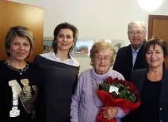 Lugo. Voltana. Annina Scardovi compie 103 anni. La musica classica la sua passione.