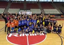 Rimini. Sport e divertimento in occasione del secondo torneo di minivolley targato Fipav.