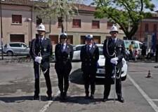 Ravenna. Riolo Terme. In occasione della ricorrenza del Patrono le Polizie Municipali si ritrovano per festeggiare.