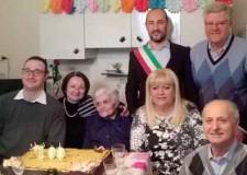 Fusignano. Buonn compleanno a Maria Francesconi, ha compiuto cento anni.