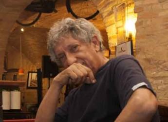 Faenza. Un incontro con Eugenio Bennato all'osteria della Sghisa per il Mei 2015.