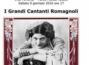 San Mauro Pascoli. Le Storie dei Grandi Cantanti Romagnoli, ultimo appuntamento con 'Voci in Villa'.