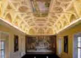Ravenna. Un convegno su storia, arte e restauri. Il refettorio camaldolese di Classe diventa Sala Dantesca della Classense.