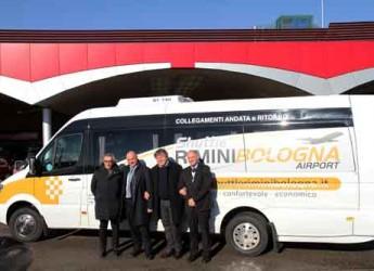 Rimini. Al via il nuovo collegamento con l'aeroporto Marconi di Bologna.