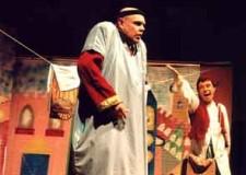 Cattolica. Al Salone Snaporaz l'ultimo appuntamento delle rassegna teatrale con 'Alì Babà e i 40 ladroni'.