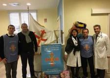 Rimini. All'Ospedale Infermi è arrivata la Befana per consolare i bambini malati.