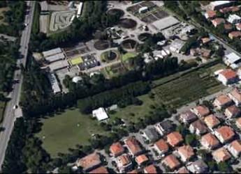 Riccione. Depuratore. Un incontro pubblico sulla presentazione del nuovo progetto per la vasca di laminazione di via La Spezia.
