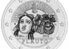 Sarsina. A Plauto una moneta commemorativa da 2 euro in occasione del 2.200 anniversario della sua morte.