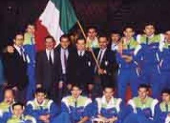 Modena. La città festeggia la nazionale italiana di pallavolo: 100 azzurri e 70 anni di volley.