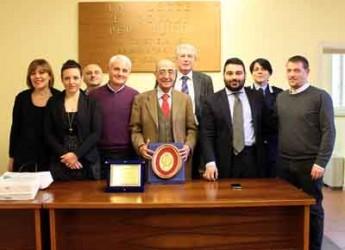 Lugo. Il giudice di pace Francesco Cersosimo va in pensione. Il saluto del sindaco Ranalli e tutta la città.