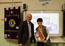 Bagnacavallo. Lions Club ospite tra gli studenti con il progetto 'All you need is like'.