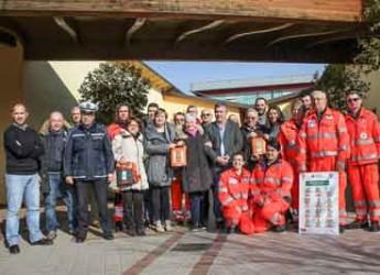 Modena. San Prospero. Un comune cardioprotetto con i volontari di Croce Blu e 5 defibrillatori sul territorio.