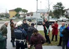 Ravenna. Inaugurata la piazza dedicata all'autrice Elsa Morante.