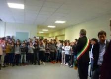 Ravenna. Marina di Ravenna. Inaugurate le nuove aule alla scuola media Enrico Mattei.