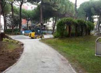Cervia-Milano Marittima. Continuano i lavori di manutenzione del progetto 'PassoDopoPasso'.