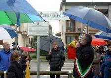 Ravenna. Inaugurato il giardino Cesare Folli, dirigente comunista e consigliere comunale.