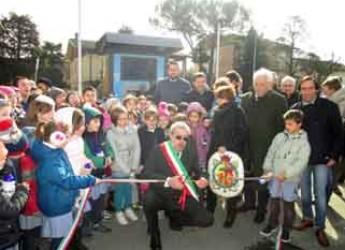 Ravenna. A Mezzano inaugurata la 'sorgente urbana' in via Borghi. Terzo impianto attivato nel comune.