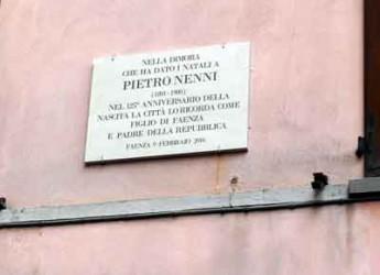 Faenza. La città ha ricordato con una targa il Padre fondatore della Repubblica Pietro Nenni.