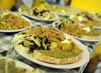Bellaria Igea Marina. In occasione del 'Pinzimonio l'orto e il mare' lo street food della Taverna da Bruno.