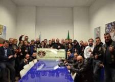 Riccione. Gli harleysti del Riccione Chapter Italy donano un attrezzo per la riabilitazione dell'anca e ginocchio all'Ospedale Ceccarini.