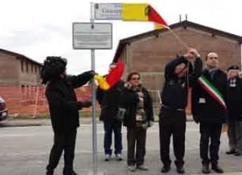 Ravenna. Inaugurato con la Fanfara dei Bersaglieri il piazzale dedicato a Giuseppe Galli.