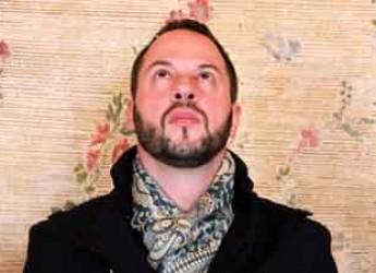 RAvenna. Lido Adriano. Sul palco del Cisim Murubutu presenta il suo ultimo disco.