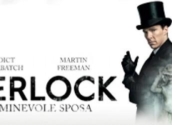 """La serie Sherlock sul grande schermo. Mercoledì 10 febbraio all'Uci l'episodio """"L'abominevole sposa""""."""