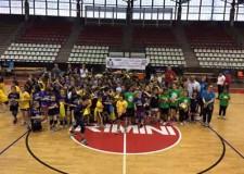 Rimini. Volley. Il torneo di minivolley del comitato Fipav ha coinvolto 34 squadre e 130 bambini.