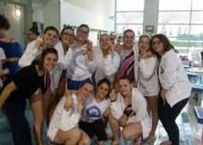 Cesenatico. Incetta di medaglie per le ragazze del nuoto sincronizzato dell'Around Team a Faenza.