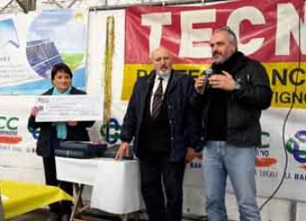 Cotignola. Raccolti 3mila euro per i reparti di oncologia degli ospedali di Lugo e Faenza in occasione della Segavecchia.