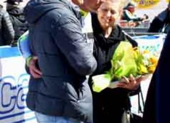 Gatteo. Davanti al suo pubblico Manuel Belletti vince la gara ciclistica 'Coppi e Bartali'.