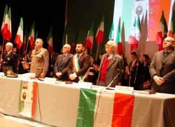 Lugo. Studenti e istituzioni hanno celebrato la giornata del Tricolore al teatro Rossini.