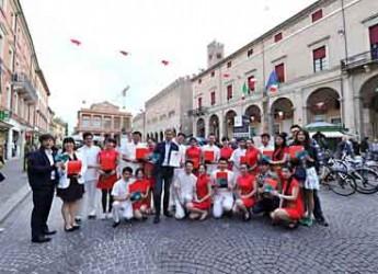 Emilia Romagna. Rimini. Turismo. Tour operator cinesi a caccia di bellezze artistiche a location per matrimoni.