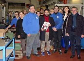 Lugo. Impresa comune. Il sindaco fa visita alla W-turn, impresa specializzata in costruzioni e lavorazioni meccaniche.