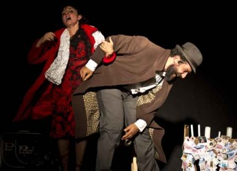 Poggio Torriana. Al centro sociale è andato in scena lo spettacolo 'In Ginocchio' in occasione della giornata della legalità.