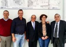 Cesena. I rappresentanti delle IOR e dell'IRST in visita alla Siropack Italia di Cesenatico.
