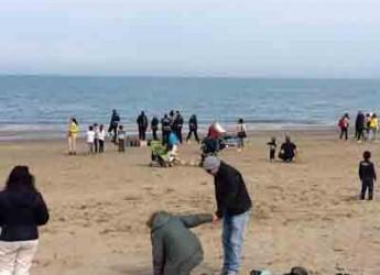 Riccione. Multe e sequestri in spiaggia contro l'abusivismo commerciale. L'anno inizia all'insegna della legalità.