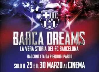 Rimini. Al Cinema Le Befane arriva 'Barça Dreams', la vera storia del FC Barcellona e dei suoi campioni.