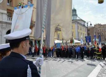 Rimini. Tanti in piazza per celebrare il 71° anniversario della Liberazione.