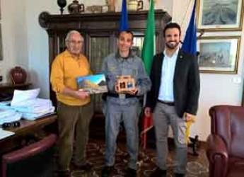 Cervia. Il sindaco ha dato il benvenuto a Massimo Cangini, nuovo comandante del Corpo Forestale.