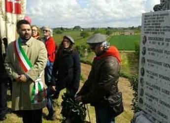 Lugo. Il sindaco Ranalli ha celebrato i caduti nel 71° anniversario della Liberazione.