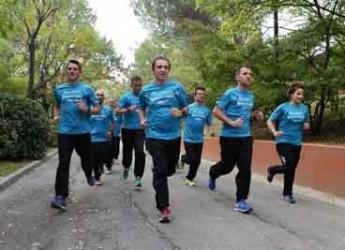 Rimini. San Patrignano. I ragazzi della comunità alla maratona di Londra per correre sotto il Big Ben.
