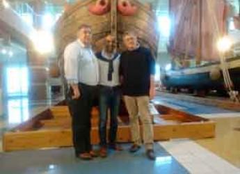 Cesenatico. Il Direttore della European Travel Commission Eduardo Santander al Museo della Marineria di Cesenatico.