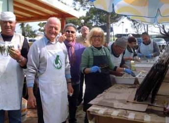 Ravenna. Punta Marina. Il Primo maggio dedicato alla 'Brasula alla romagnola'.