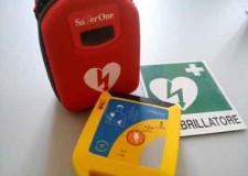 Santarcangelo. Inaugurato ieri il defibrillatore in piazza Borghesi donato dall'Accademia dei Filopatridi.