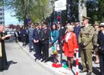 Rimini. Intitolata alle Forze Armate la rotatoria tra Via Flaminia e via Fada.
