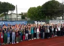 Santarcangelo. Oltre 500 alunni hanno partecipato all'edizione 2016 de 'La scuola va ad atletica'.
