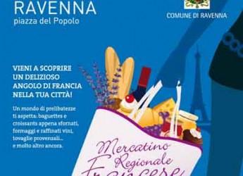 Ravenna. In piazza del Popolo la prima edizione del Mercatino Regionale Francese.