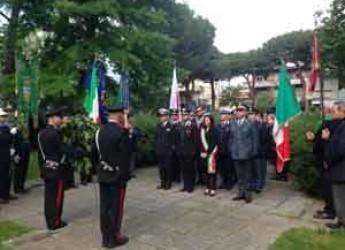 Riccione. La città ha celebrato il 71° anniversario della Liberazione. Corteo fino a piazza Matteotti.