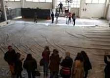Rimini. Riapre il sipario del Teatro Galli. Iniziati i rilievi sull'antica tela di Coghetti.